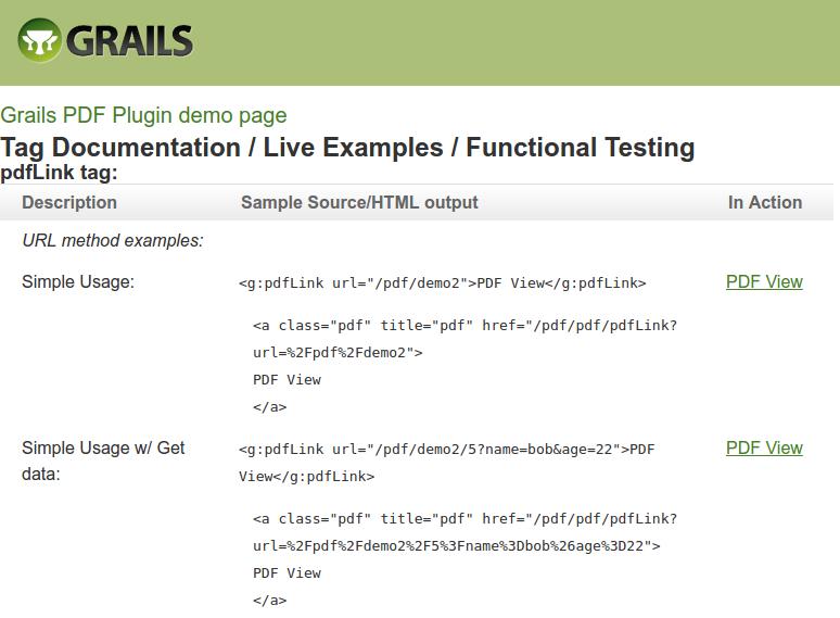 Grails PDF Plugin XXE
