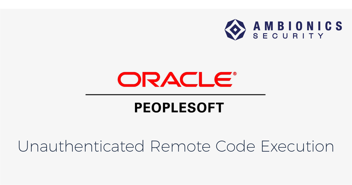 Oracle PeopleSoft Remote Code Execution: Blind XXE to SYSTEM Shell